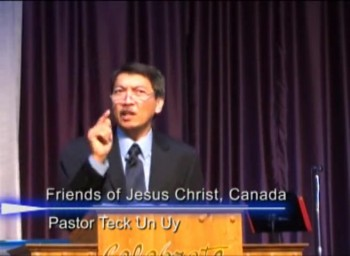 Pastor Preaching - August 04, 2013