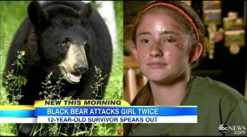 Teenaged Girl Miraculously Survives Bear Attack -TWICE