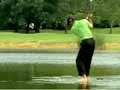 Can Tiger Woods Walk On Water?