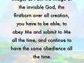 I am the same - a word from Lord Jesus
