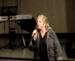 Sally Baucke Stand Up at the 2008 Christian Comedy Association