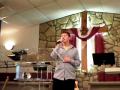 Jonthan Klinger preforming at New Life Worship Center