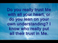 Whom do you trust? - January 22, 2010