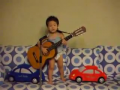 Cute korean kid sings Hey Jude