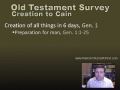 What Does The Bible Teach On Creation? Bible Study Louisville KY