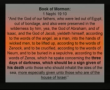 Book of Mormon error: Three days of darkness