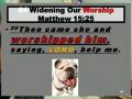 DVD#423 Worthy Of Worship Part_Eight