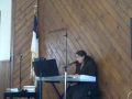Sister Angela Traub Worshiping Jesus in Song