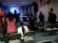 Children Worshiping and praising!