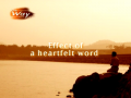 Effect of a Heartfelt Word (The Way 291 - Photo Essay by Rev.Dr.Jaerock Lee)