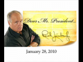 Rush Limbaugh's Letter to President Obama