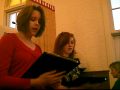 A French Carol (duet) at Christmas Eve Service 2009