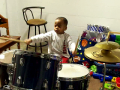 Grandson AJ (Soon to be Three) Getting His Groove On...