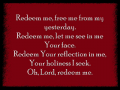 Redeem Your Reflection In Me