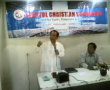 Philippines  man of god ,DANTE LIBAN   a three termer in congress , feeling rhe needs