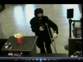 Crippled Ninja Robs Bank