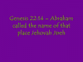 The Pathway to the Place of Jehovah Jireh, #1