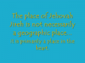 The Pathway to the Place of Jehovah Jireh, #8