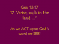 The Pathway to the Place of Jehovah Jireh, #10