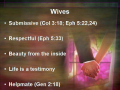 Experience Marriage God's Way pt 2