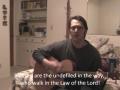 """Psalm 119:1-8 """"01 - Aleph"""" NKJV"""