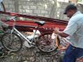 Eric getting his bike painted