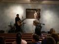 "Robert performing ""Prayer of a Broken Heart"""