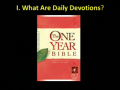 100314 DEVOTED TO DAILY DEVOTIONS