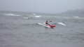 Jerry Kayak Surfing