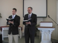 "Special Music: ""All Glory, Laud and Honor."" Trinity Hymnal #173"