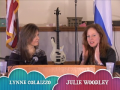 """""""ARISE AND SHINE WORLDWIDE TV SHOW"""" WITH GUESTS JULIE WOODLEY AND LYNNE COLAIZZO. SHOW-0009 PART-3 OF 3"""