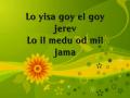 Lo Yisa Goy