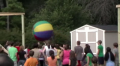 Teen Rally - Big Ball Basketball