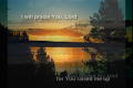 I Will Praise You, Lord (Joy Will Come)