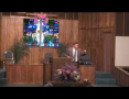 Rev Richard Ray Delivers Message at First Baptist Church Wink Texas