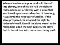 Ephesians - Lesson 11 - Redemption