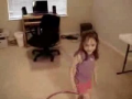 Funny Hula Hoop Baby