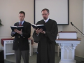 "Special Music: ""Unless the Lord the House Shall Build,"" Trinity Hymnal (original) #291."