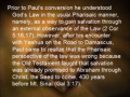 The Apostle Paul Says pt 9 of 9