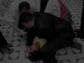 Mujer endemoniada trata de morder al Evang. Marlon Lopez
