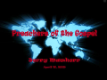 Preachers of the Gospel by Jerry Mawhorr - Part 1