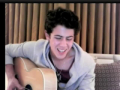 """Turn Right"" - Nick Jonas (Live Chat in London 6.17.10)"