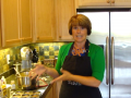 Making healthy Pumpkin Chocolate Chip Muffins with Debbie Chavez