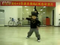 Cutest break dancing kid ever.
