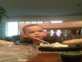 Jamesy Prays Over Our Dinner