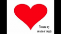 You are my Valentine