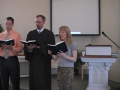 "Hymn: ""Guide Me, O Thou Great Jehovah,"" Trinity Hymnal #501"