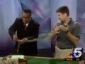 Lizard Attacks News Anchor!
