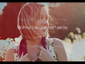 Britt Nicole - Hanging On (Acoustic Slideshow With Lyrics)