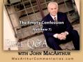 The Empty Confession (Matthew 7)